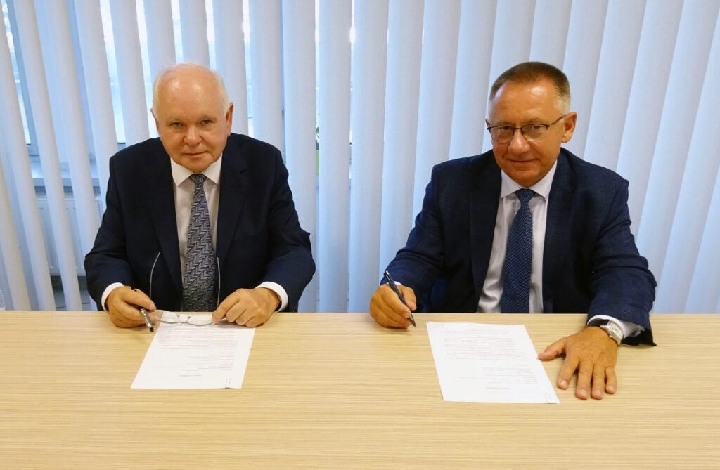 Podpisanie umowy o współpracę z Wyższą Szkołą Techniczną w Katowicach
