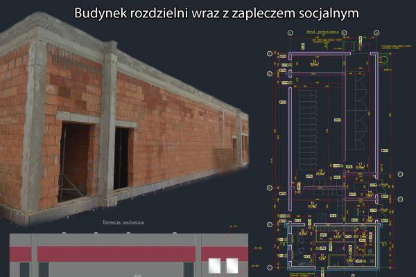 Budynek rozdzielni wraz z zapleczem socjalnym